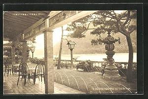 Ansichtskarte Gifu, Nagaragawa Hotel, A view of