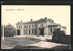 Ansichtskarte Sandviken, Kontoret