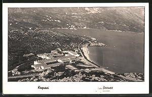 Ansichtskarte Kupari, Fliegeraufnahme vom Grand Hotel