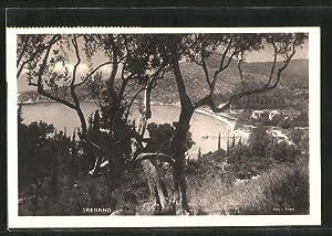 Ansichtskarte Kupari, Teilansicht vom Berg aus