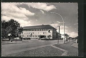 Ansichtskarte Harsewinkel, Maschinenfabrik Gebr. Claus, Verwaltungsgebäude