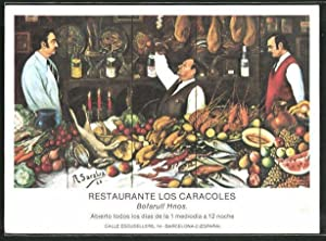 Postal Barcelona, Restaurant Los Caracoles