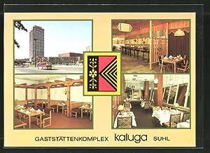 """Ansichtskarte Suhl, Gaststättenkomplex """"KALUGA"""""""