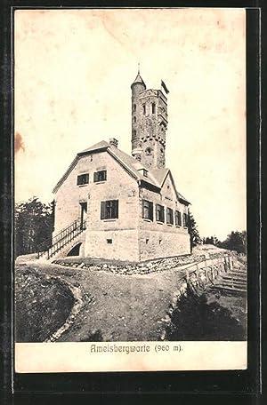 Ansichtskarte Lembach, Partie an der Ameisbergwarte