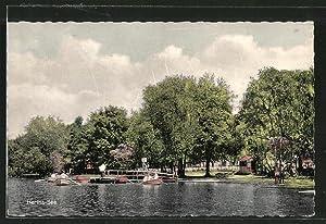 Ansichtskarte Holzappel, Blick auf Herta-See