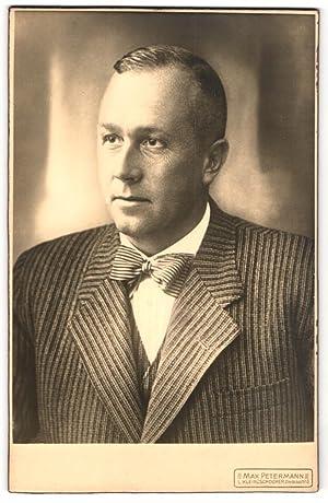 Fotografie Max Petermann, Kleinzschocher, Portrait bürgerlicher Herr