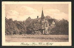 Ansichtskarte Rotenburg, Villla am Forsthof