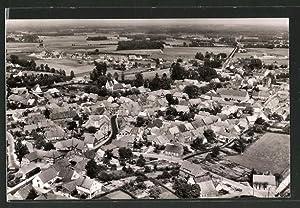 Ansichtskarte Metelen, Luftbild der Ortschaft