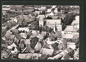 Ansichtskarte Metelen, Fliegeraufnahme der Ortschaft