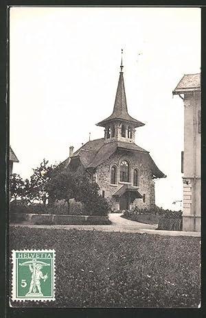 Ansichtskarte Renens, Eglise, Blick zur Kirche