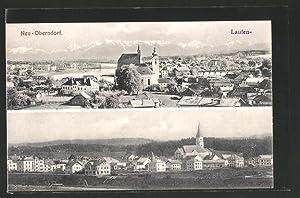 Ansichtskarte Laufen-Neu Oberndorf, verschiedene Ortsansichten