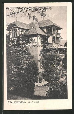 Ansichtskarte Bad Liebenzell, Blick zur Villa Lioba