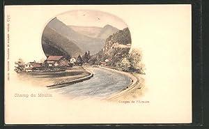 Ansichtskarte Champ du Moulin, Gorges de l'Areuse,