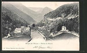 Ansichtskarte Champ du Moulin, Gorges de l'Areuse