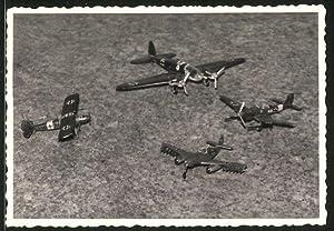 Fotografie Modellbau, Flugzeug-Modelle der Luftwaffe, Messerschmitt Me