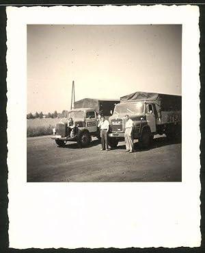 Fotografie Lastwagen MAN, Mercedes Benz, LKW der