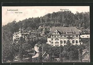 Ansichtskarte Bad Liebenzell, Villa Lioba und Missionshaus