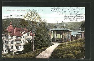 Ansichtskarte Bad Liebenzell, Villa Lioba