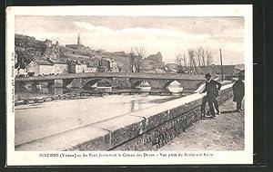 Good Carte Postale Poitiers Le Pont Joubert Et Le Coteau Des Dunes Vue Prise Du With Poitiers