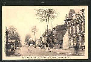 Carte postale Avesnes sur Helpe, Avenue Jesse