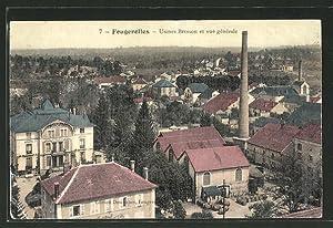 Carte postale Fougerolles, Usines Bresson et vue