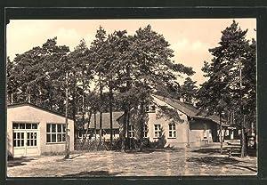 Ansichtskarte Frauensee, Pionierlager M.I. Kalinin