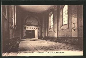 Carte postale Beauvais, Lycee Jeanne Hachette, La Salle de Recreation
