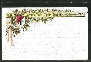 Ansichtskarte Leipzig, Allg. Turnverein Grosszschocher-Windorf