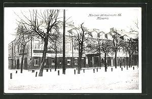 Ansichtskarte Kowno, Gebäude in der Kaiser Wilhelmstrasse