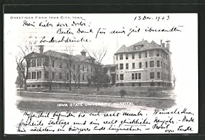 Postcard Iowa City, IA, Iowa State University