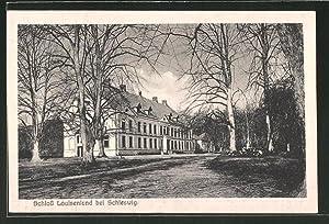 Ansichtskarte Güby, Ansicht des Schloss Louisenlund