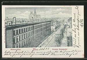 Great carte postale metz blick in die rmer allee with - Code postal maizieres les metz ...