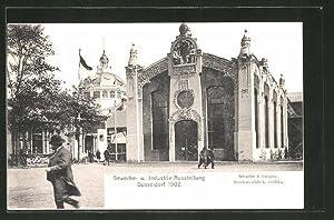 Ansichtskarte Düsseldorf, Industrie-, Gewerbe-Ausstellung 1902, Maschinenfabrik Schaefer,
