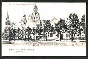 Ansichtskarte Düsseldorf, Industrie-, Gewerbe-Ausstellung 1902, Rheinische Metallwaren