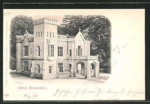 Ansichtskarte Grossau, Blick auf das Schloss Merkenstein