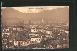 Ansichtskarte Prilep, Stadtblick über die Dächer
