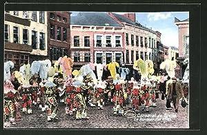 Ansichtskarte Binche, Carnaval, Le Rondeau des Gilles