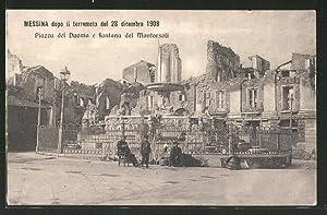Ansichtskarte Messina, Terremoto del 28 Dicembre 1908,