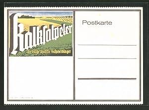 Ansichtskarte Kalksalpeter, der billige deutsche Salpeterdünger