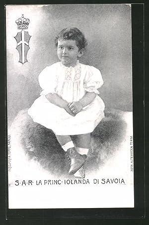 Cartolina La Princ. Jolanda di Savoia, Kleinkindporträt