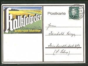 Ansichtskarte Reklame Kalksalpeter, der billige deutsche Salpeterdünger