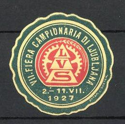 Reklamemarke Ljubljana, VIII. Fiera Campionaria di Ljubljana