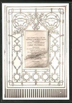 Cartolina Milano, Istituto Tecnico Industriale G. Feltrinelli,