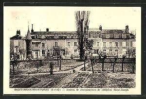 Carte postale Saint-Brice-Sous-Foret, Maison de convalescence de