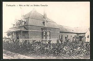 Ansichtskarte Poelkapelle, Huis en Hof des Kinders