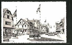 Ansichtskarte De Panne, Square Koning Albert I.