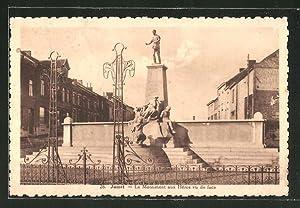 Ansichtskarte Jumet, le Monument aux Héros vu