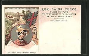 Künstler-Carte postale Paris, Aux Bains Turcs, 168