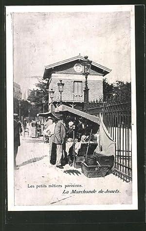 Ansichtskarte Paris, La Marchande de Jouets