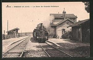 Ansichtskarte Poiissy, la gare de grande Ceinture